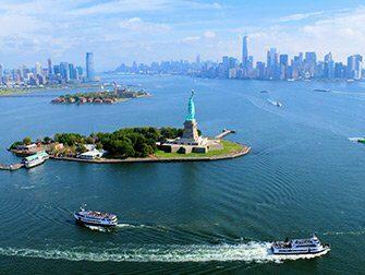 Giro in elicottero senza porte a New York - Statua della Libertà