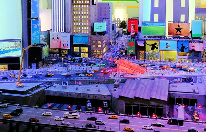 Gulliver's Gate mondo in miniatura - Times Square