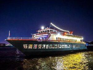 Crociera con cena sul fiume Hudson a New York