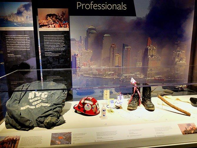 911 Tribute Museum a New York - Oggetti