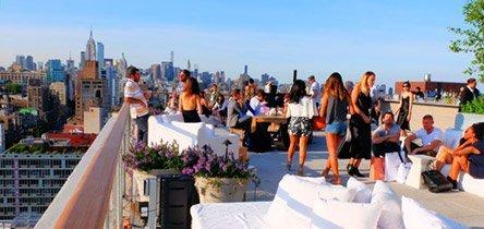 Giro dei rooftop bar