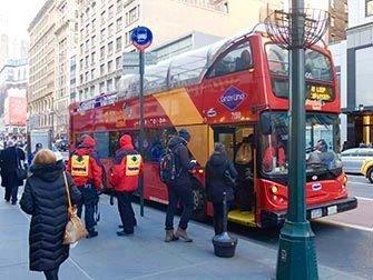 New York Sightseeing Flex Pass - Autobus hop on hop off