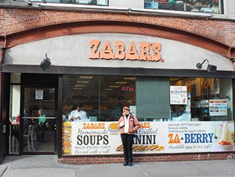 Tour dei film classici a New York - Zabar's
