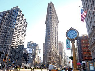 Tour dei supereroi a New York - Flatiron Building