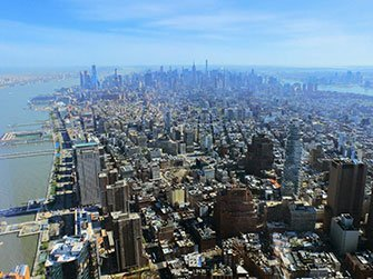 La differenza tra il New York Sightseeing Flex Pass e il New York Explorer Pass - Vista One World Observatory