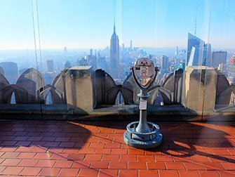 La differenze tra il New York Sightseeing Day Pass e il New York Pass - Top of the Rock