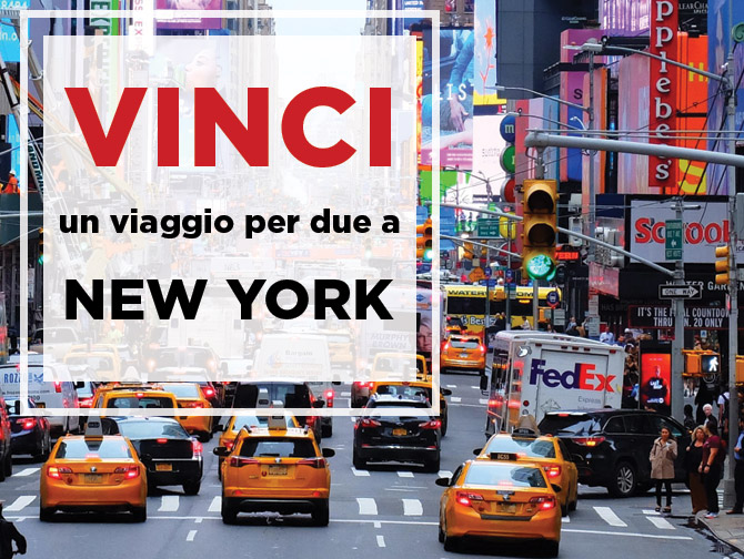 Vinci un viaggio per due a New York