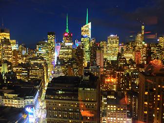 Ristoranti a New York - Vista da GAONNURI
