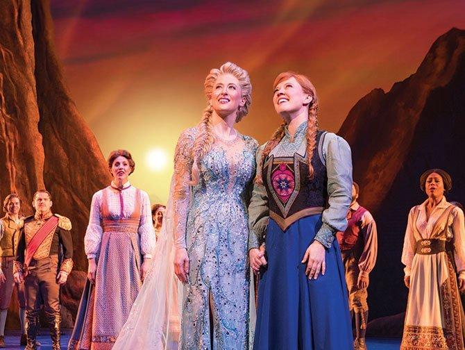Spettacoli a Broadway per bambini - Frozen